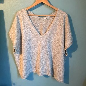 Madewell Sweaters - Madewell Marled Ellendale Sweater Tee XL